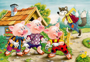 Three-little-pigs