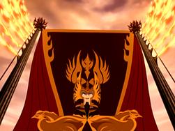 Phoenix King Ozai coronation