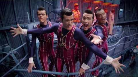 """We are number one but every """"hey"""" is replaced with """"heil hitler"""""""