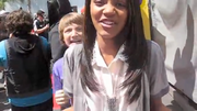 Jake Being Silly Behind Chyna1