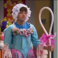 Fletcher Dressed as Little Bow Peep 1