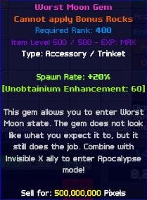 WM Gem Level 500