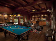 Mediterranean Billiard Room