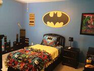 Batman-Themed Bedroom