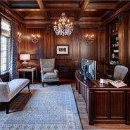 Victorian Home Office