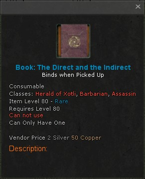 Book the direct and the indirect