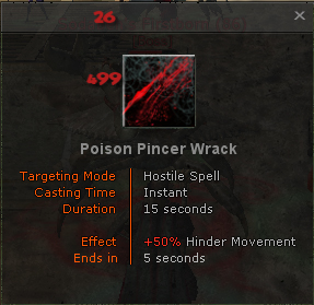 Poison Pincer Wrack