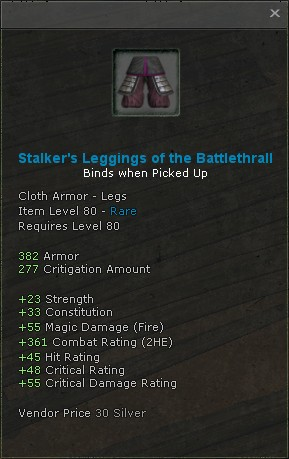 Stalkers leggings of the battlethrall