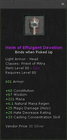 Helm of effulgent devotion