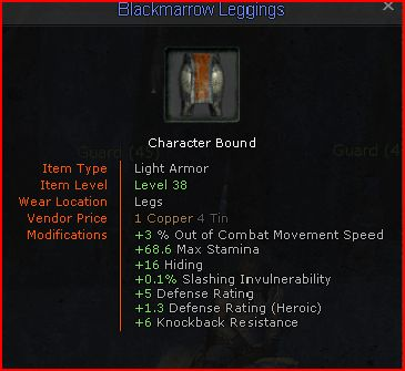 Blackmarrow LeggingsLrg