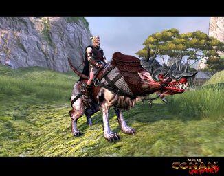 Shadowfury War Wolf