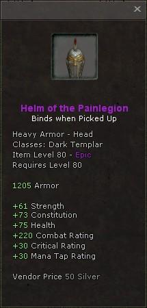 Helm of the painlegion