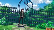 Rin breaks the gate