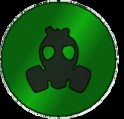 Survivor badge burned