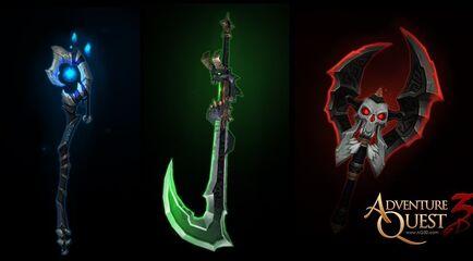 Weapons Of Nightlocke