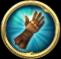 Gloves Icon Button Closed Beta