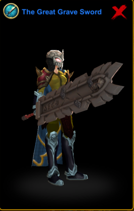 The Great Grave Sword