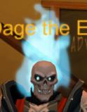 Flaming Skull-0