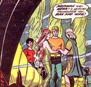 Aquaman and Mera married