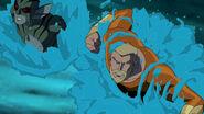 Lagoon Boy and Aquaman YJ