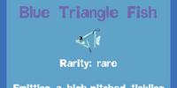 Blue Triangle Fish