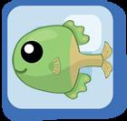File:Fish Green Table Tennis Racket Fish.png