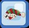 File:Fish Green and Red Santa Hat Fish.png