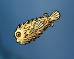Fish enemy pufferfish