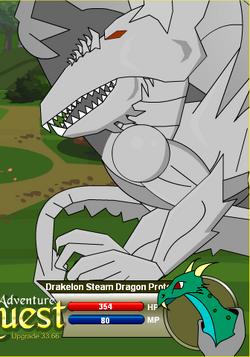 Drakelon Steam Dragon Prototype