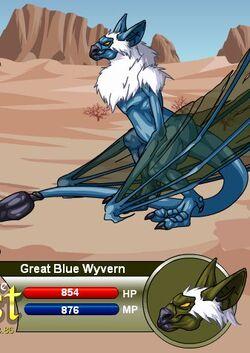 Great Blue Wyvern