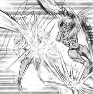 Arata Tsukuyo vs Kikutsune Kisaru