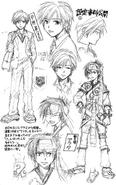 Hinohara & Arata Sketch Concept