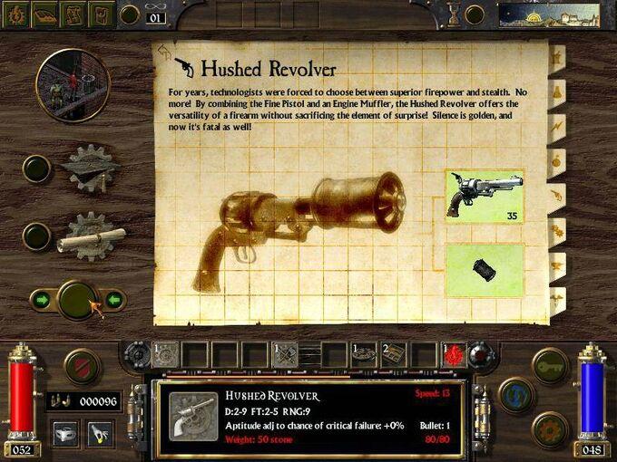 Hushed Revolver