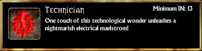 Electrictechnician