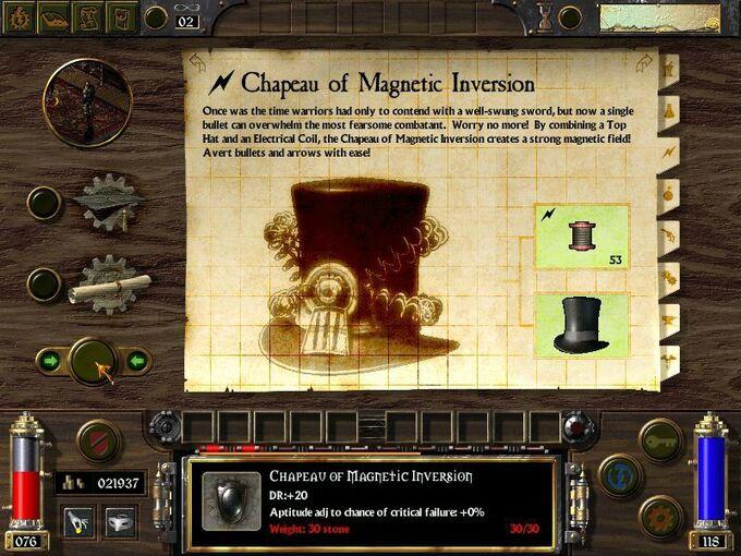 Chapeau of Magnetic Inversion
