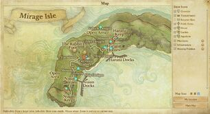 Better Mirage Island Map