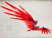 Phoenix wings glider