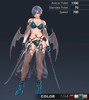 Default Ridika 3D In-Game Model Front Colour 3