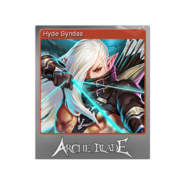 Hyde Syndas (Foil Trading Card)