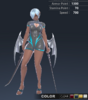 Summer Ridika 3D In-Game Model Front Colour 2
