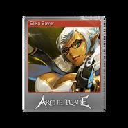 Elika Bayer foil