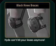 Renoah Black Knee Braces