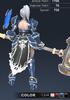 Default Valle 3D In-Game Model Back Colour 3