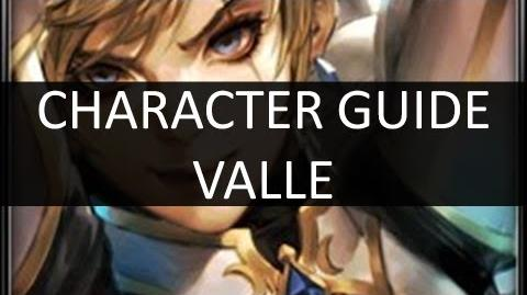 ArcheBlade - Character Tutorial Valle