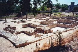 Site archeologique large