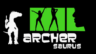 Archersaurus Title Card