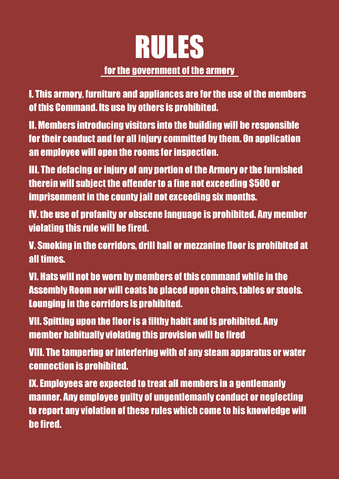 File:RULES for the government of the armory.png