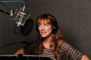 JudyGreer-RecordingInStudio-1
