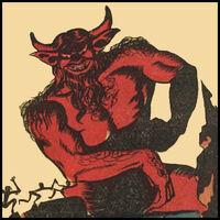 Satan (True) (Earth-MLJ) of Pep Comics Vol1 16