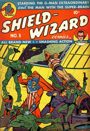 Shield-Wizard Comics Vol 1 3
